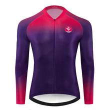 цена на Geeklion New Long Sleeves Cycling Jersey Racing Outdoor Bike Jersey Breathable Cycling Maillot Ciclismo