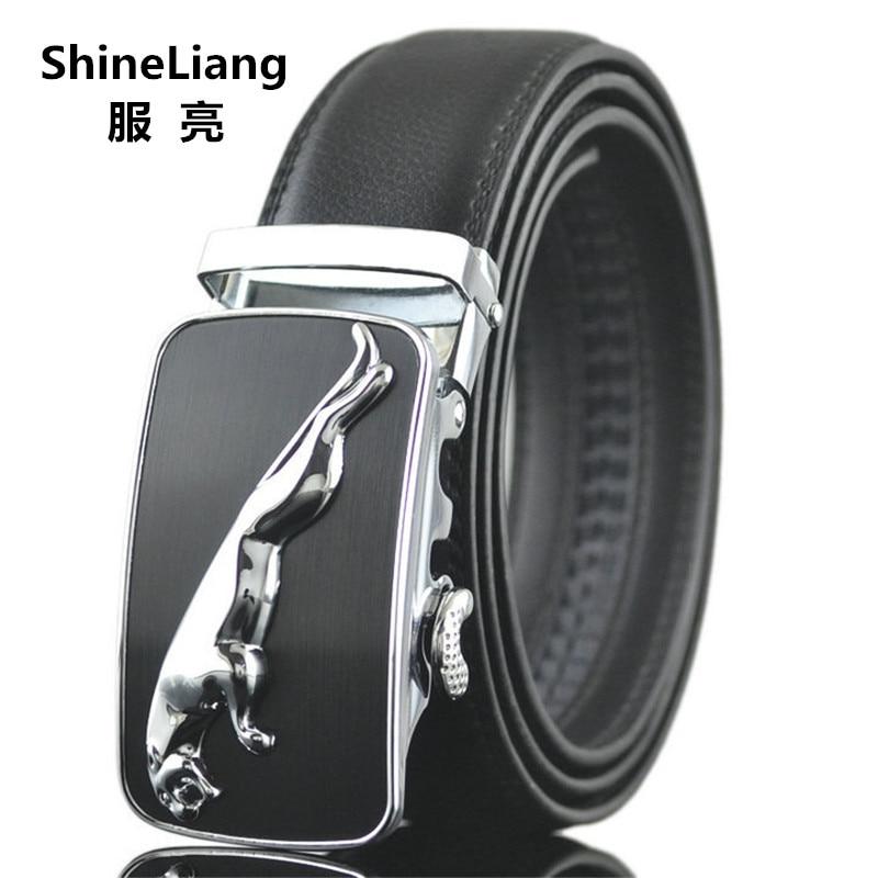 Rripa Shineliang për burra Lëkurë Dizajnët e markave të famshëm - Aksesorë veshjesh - Foto 2