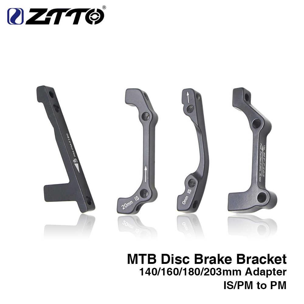 ZTTO MTB 1 pc Disc เบรค Ultralight วงเล็บน B PM แผ่นดิสก์เบรคอะแดปเตอร์สำหรับ 140 160 180 203mm rotor