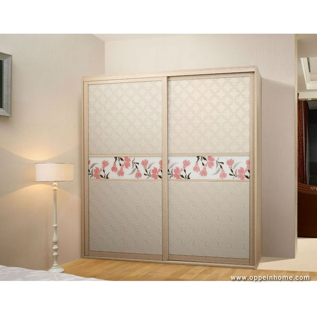 Bedroom Furniture Sliding Door with PU Leather for Wardrobe from ...
