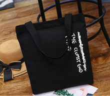 100 pcs/lot Beige And Black Color Customized Logo Tote Bag 10A Canvas Cotton 100% Cotton Material Custom Design And Custom Logo trendy color block and canvas design women s tote bag