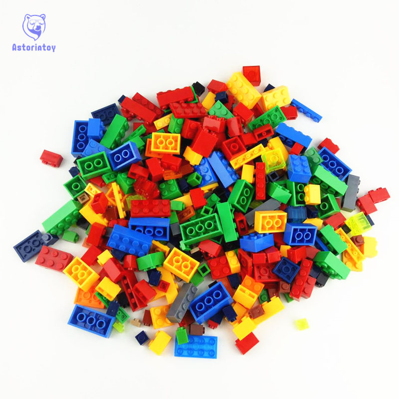 1000Pcs Building Blocks City DIY Creative Bricks Educational Building Block Toys For Child Compatible 1000pcs building bricks set city diy creative brick toys for child educational building block bulk bricks compatible with legoes
