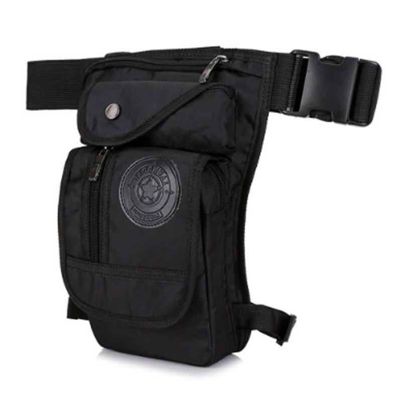 High Quality Nylon Rider Leg Bag For Men Hip Drop Messenger Shoulder Travel Trekking Motorcycle Assault Fanny Waist Pack Bags