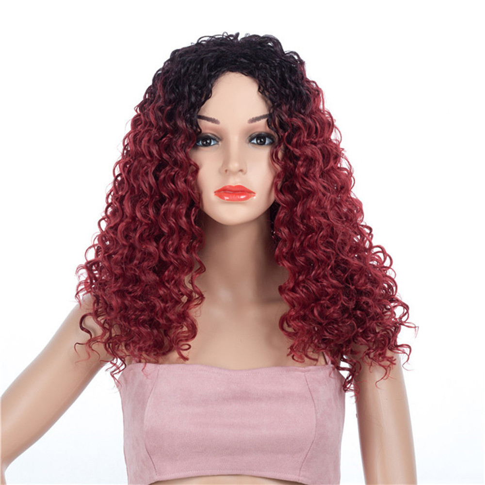 Women Fashion Lady wigs for women curly hair wigs front lace Similar to full lace wigs human hair with baby hair 6423A