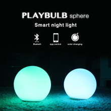 PLAYBULB Sphere Smart Color LED Night Light Atmosphere Mood Waterproof Party Wireless Bluetooth APP Control Mothers Day Gifts