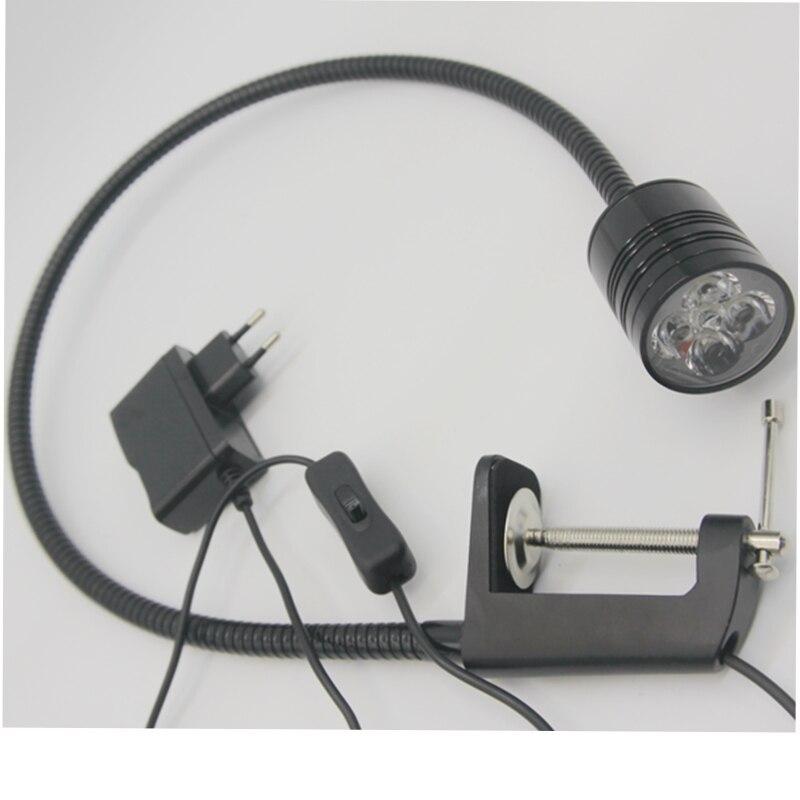 Pince Flexible de lumière de travail de tuyau de 5 W LED lumineuse à la lumière dinspection légère de chirurgie dentaire avec la prise