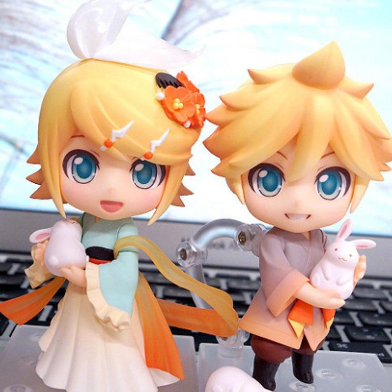 Anime Vocaloid – Hatsune Miku Kagamine Rin Ren Len Harvest Moon | 4″