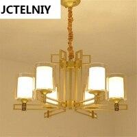 Новый китайский стиль подвесной светильник старинные tieyi новая классическая отель лампы