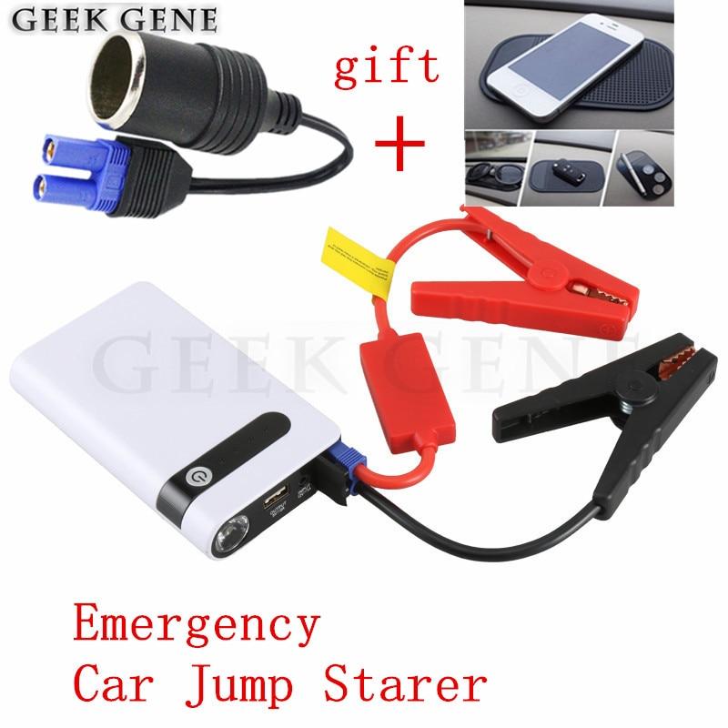 Multi-function 12000mAh Car Jump <font><b>Starter</b></font> Portable Starting Device Lighter Power Bank 12V Car Charger For Car Battery Booster LED