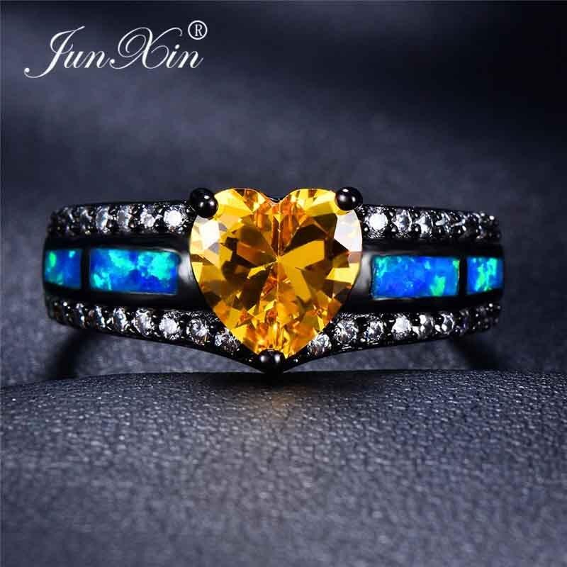Blue Opal Yellow