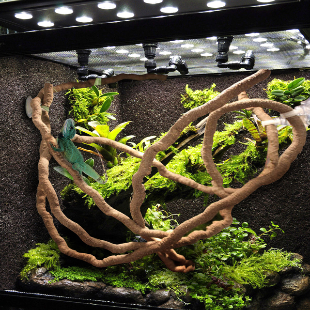 1 5 2 5 3m Large Flexible Vines Habitat Decor Bendable Jungle