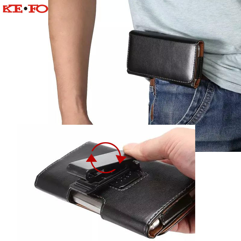 360 Rotation Belt Clip Pouch <font><b>Case</b></font> For <font><b>Sony</b></font> <font><b>Xperia</b></font> <font><b>Z2</b></font> Z3 Z4 Z5 Mini XZ XZ1 XZ2 Compact X Performance Outdoor Universal Waist Bag image
