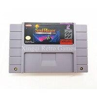 Super Nintendo SFC/SNES Jogo Soul Blazer Cartucho de Jogo de Vídeo Console NTSC Cartão EUA Versão Inglês