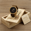 BOBO BIRD Women Watch Bamboo Wristwatches With Genuine Cowhide Leather Luxury Brand Wood Watches with Wood Boxas Gifts