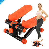 Mini Treadmill Steppers Pedal Household Quiet Hydraulic Stair Climbers Home Fitness Equipment for Lose Weight Leg Slimming