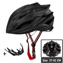 Cycling Helmet MTB Road Bike Men Women Bicycle Helmet Matte Black Integrally-molded Breathable Insect Net Helmet Euipped Helm triple 8 brainsaver gun matte helmet