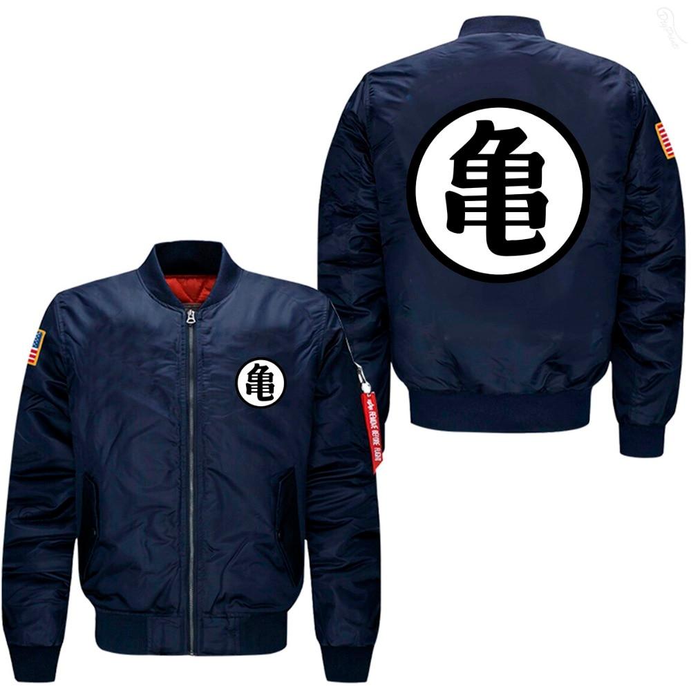 watch 05cdf cdf4c Xijun 2018 Winter herren Bomber Jacken Anime Mäntel Dicker Baumwolle Liner  streetwear Jacke Männer kleidung MA1