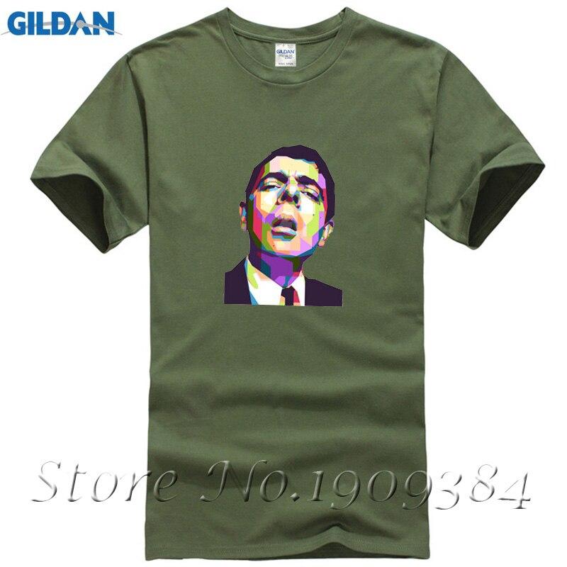 Голливудская кинозвезда рубашка летние новые модные мужские футболки Mr. bean Футболка Печати Фанни футболки высокого качества