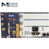 Оригинальный оптической линии терминальное оборудование ZTE ZXA10 C320 OLT с 1 * карта SXMA, 1 * коляска AC + блок питания постоянного тока GPON или EPON SXMA