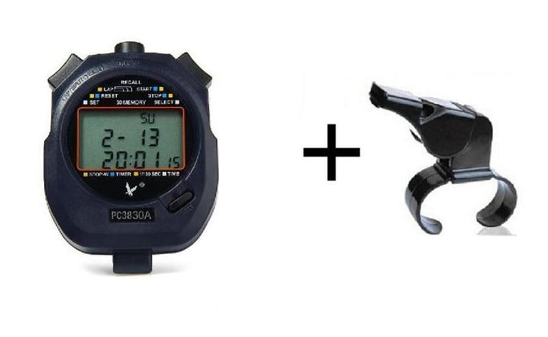 Stopwatch Timer Pro Cronometro Esportivo Digital Chronograph Sports Stopwatch Handheld Timer Running Countdown Timer