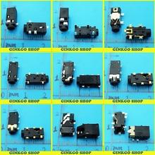 9Models, 45pcs/lot 2.5mm Audio Jack, Audio connector, Female Headphone Socket Free Shipping