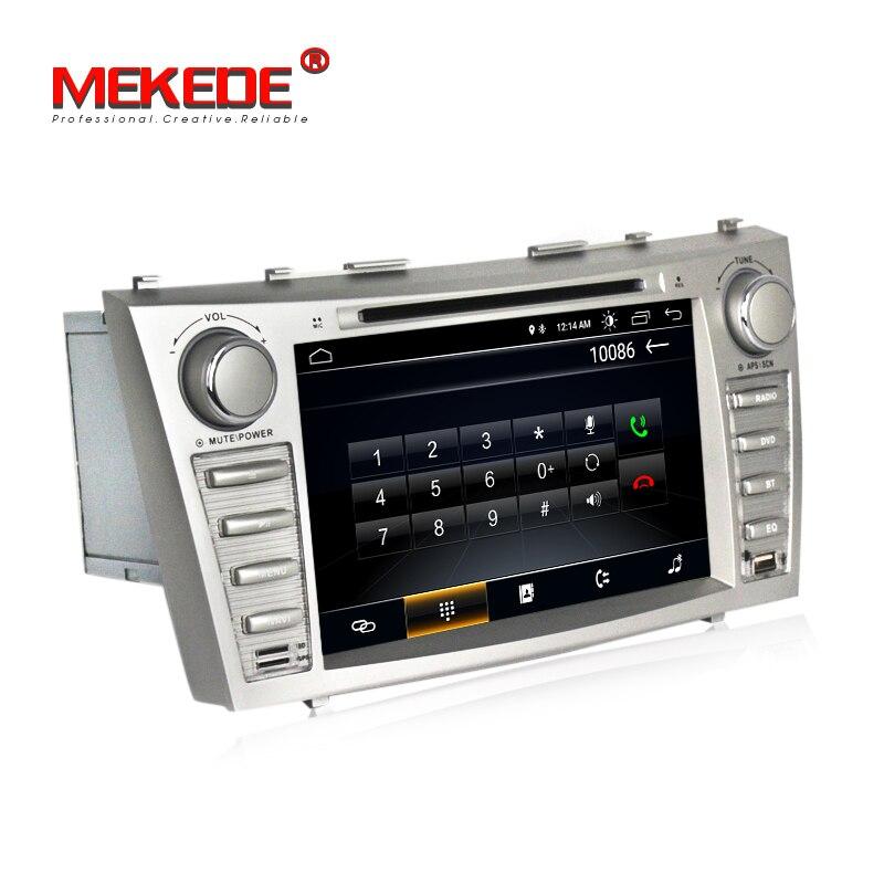 Vente chaude! Meilleur lecteur de radio dvd de voiture Android 8.1 pour Toyota camry 2007 2011 voiture dvd multimédia GPS navigation wifi bluetooth - 6