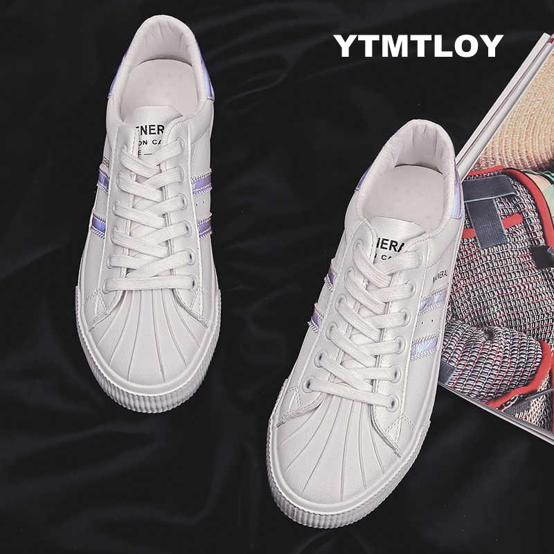 Women Sneakers Fashion Breathble Vulcanized Shoes Pu leather Platform Lace up Casual White Tenis Feminino Zapatos De Mujer 2019Women Sneakers Fashion Breathble Vulcanized Shoes Pu leather Platform Lace up Casual White Tenis Feminino Zapatos De Mujer 2019