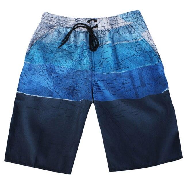 MP999 bermudas masculina de Marca Para Hombre Pantalones Cortos de Verano Grandes y Altos Pantalones Cortos ropa de Playa de Secado rápido de Plata Freeshipping