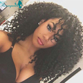 Lace Front Human Hair Wigs Brazilian Deep Curly Glueless Full Lace Human Hair Wigs For Black Women 250% Density Front Lace Wigs