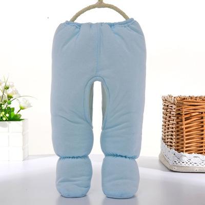 6 M bebê calças de algodão do bebê recém-nascido da menina do menino Footies calças Roupas Roupas leggings bebê vetement bebe fille