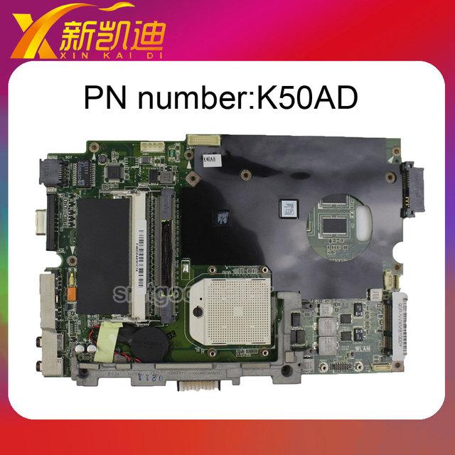 Para asus k50ad k40ab placa base amd procesador mainboard ddr2 probó por completo