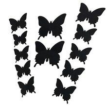 Трехмерные свадебная бабочки фотография реквизит украшение стены дома наклейки костюм