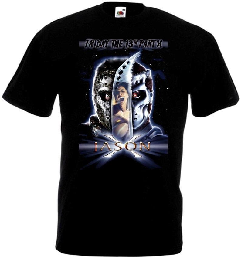 Friday The 13 v32 T-Shirt all sizes S-5XL BLACK