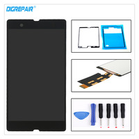5 0 Black For Sony Xperia Z L36h L36i C6606 C6603 C6602 C6601 C660X LCD Display
