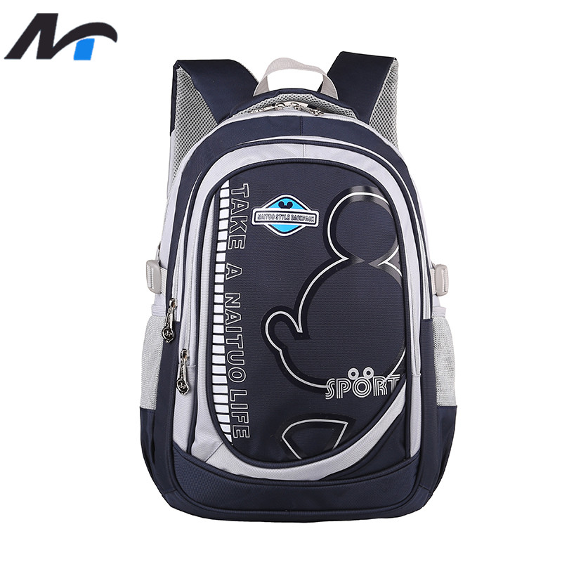 ФОТО NAITUO Orthopedic School Bags for Children Fashion Printing Backpacks For Girls Boys  School Bags Primary School Backpacks