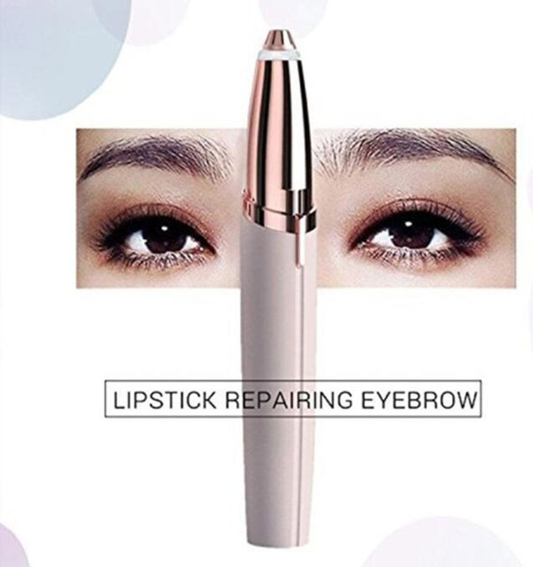 Brows Eyebrow Trimmer Mini Painless Eye Brow Epilator  For Women Eyebrow Trimmer 3