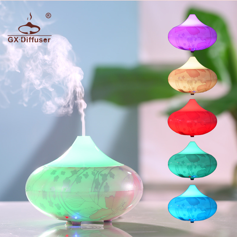 GX.Diffuser 160ML Aroma Diffuser Humidifier Aromatherapy Oil Electric Aroma Diffuser Essential Oil Aroma Diffuser Mist Miker shenzhen professional aroma diffuser essential oil for hotel lobby