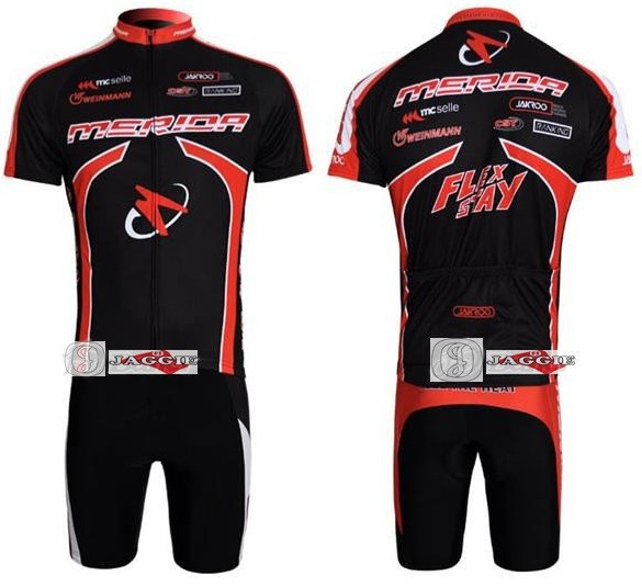 2011 MERIDA short sleeve cycling team jersey + bbb shot set kit wear clothes bicycle bike riding cycle jerseys Z123
