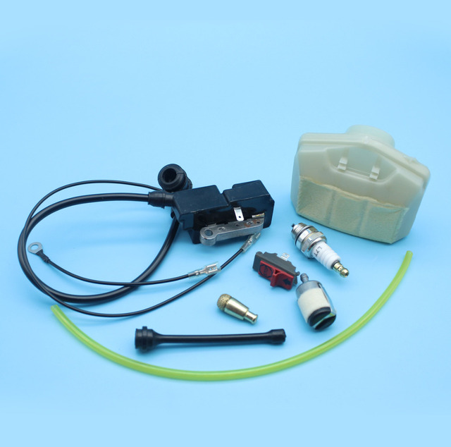 Ignition Coil Air Fuel Oil Filter Line Hose On/Off Kill Switch For ...