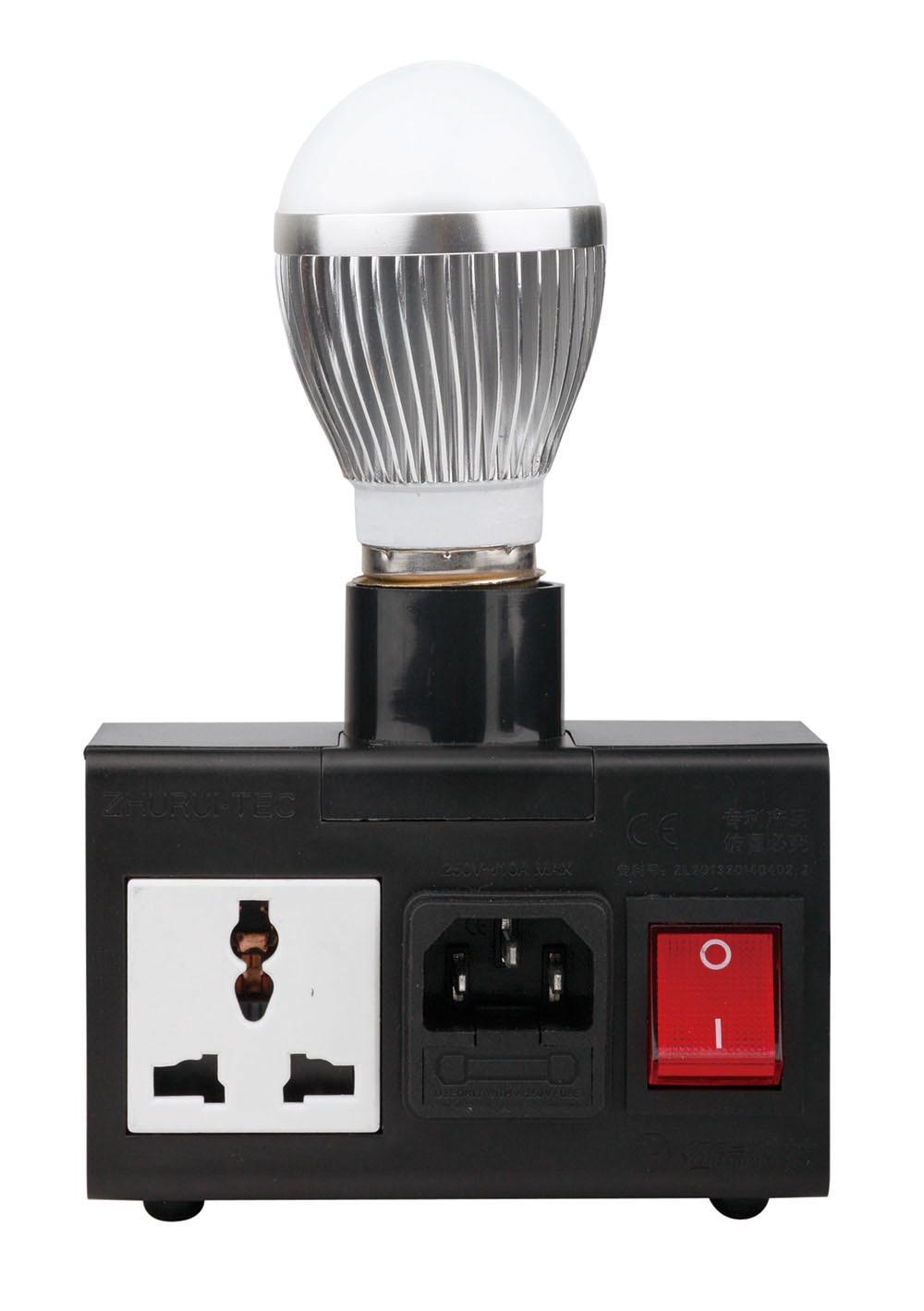 Hordozható LPT200 LCD energiamérő / teljesítménymérő - Mérőműszerek - Fénykép 2