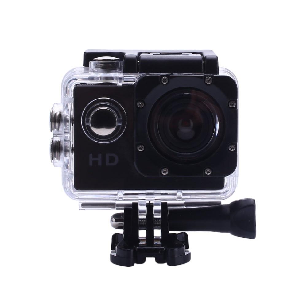 EntrüCkung Action Kamera Sport Kamera Hd 30 Mt Wasserdicht 2,0 bildschirm 1080 P 7 Farbe 90d Fahrrad Helm Sport Video 11,11 Schwimmen Klettern Sport & Action-videokamera