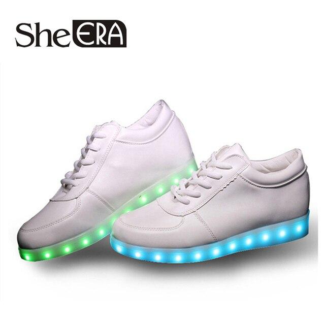 Мужская Обувь Led Обувь 7 Цветов с 11 Модели Led Light обувь СВЕТОДИОДНЫЕ Светящиеся Светящиеся Обувь со Светом для Взрослых Бесплатная Доставка