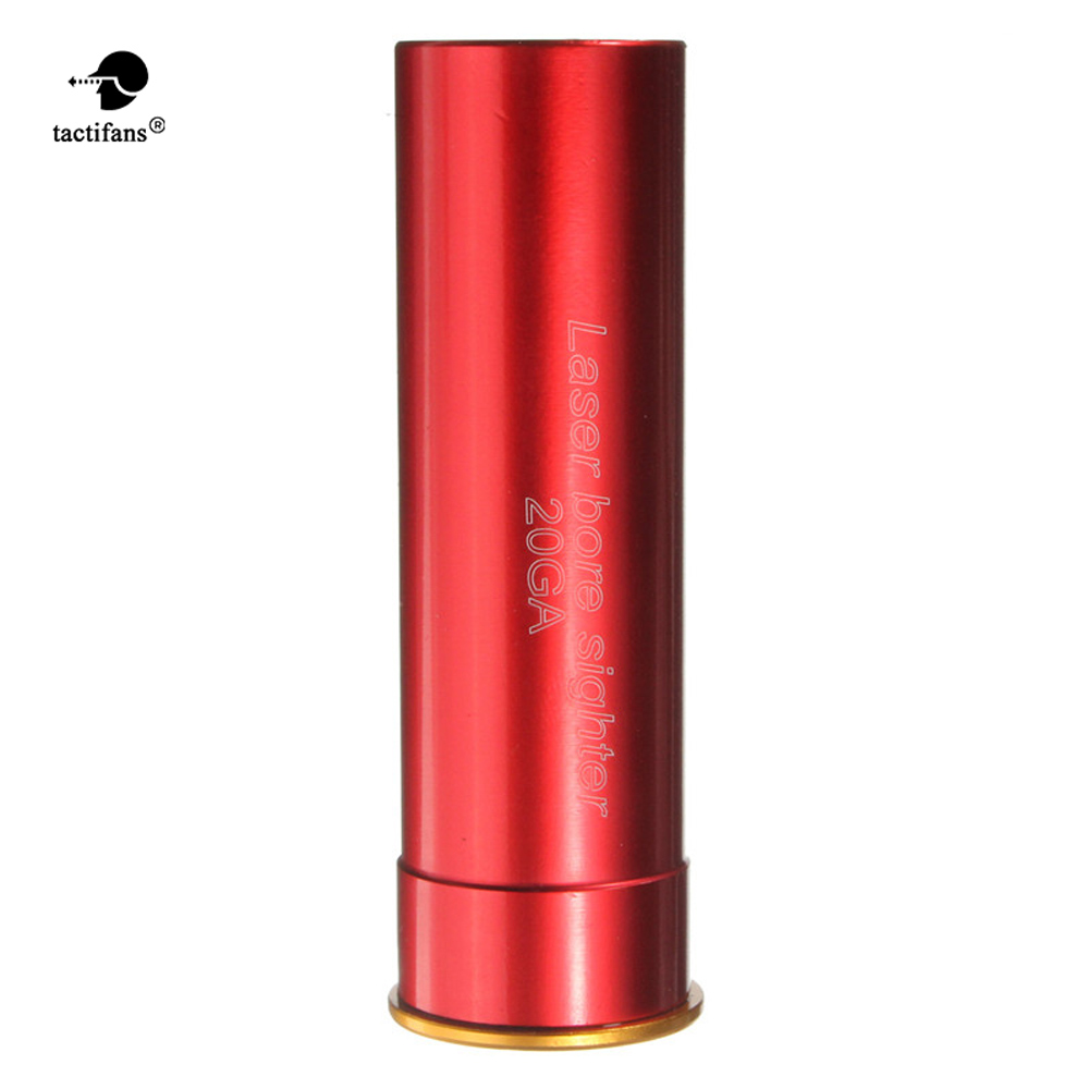 Hunting Accessories Boresight Red Dot Laser Sight CAL 35 38 45 303 308 .223 20GA 30-300WIN 7.62X39 9mm