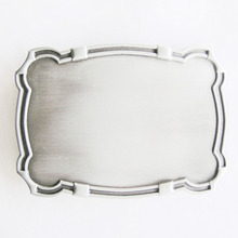 Low price Belt Buckle big discount Western Edge Blank wholesale cheap