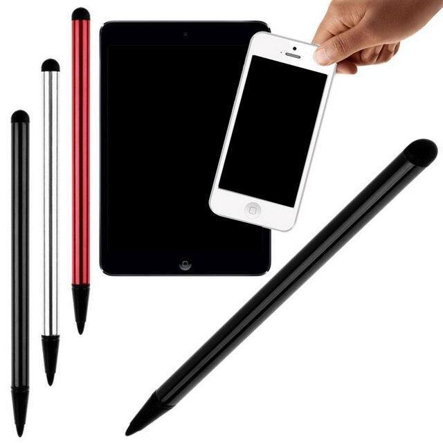 2 PC Universal Canetas Stylus Tela Capacitiva de Toque da Resistência para iPhone Huawei Xiaomi Telefones Comprimidos Almofadas GPS Sistema POS Máquina