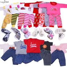 13 Styles Pajamas&Nightgown&sleepwear Fit 18 Inch American&43 CM Baby Doll Clothes Accessories ,Girl's Toys,Generation,Birthday(China)
