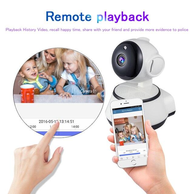 Home Security IP Camera WiFi Wireless Mini Network Camera Video Surveillance 720P Night Vision CCTV Camera Wifi Baby Monitor IR 2