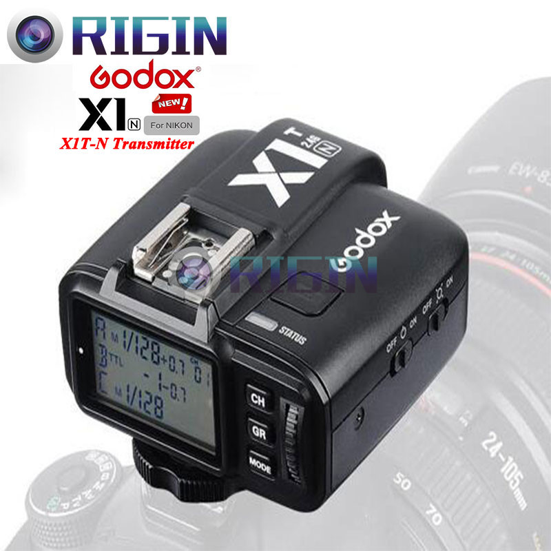 ФОТО Godox X1T-N TTL 2.4GHz Wireless Transmission With Screen Flash Trigger Multiple functions Only the Transmitter For Nikon cameras