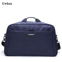 Uwkea bolsas de equipaje de viaje de alta capacidad Bolsa resistente a los hombres bolsa de viaje de gran tamaño bolsa de viaje