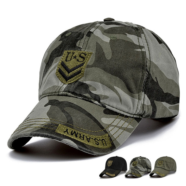 Tactical Baseball Cap Men Militar Army SWAT Camo Snapback Cap Casual Outdoor  Sports Paintball Combat Camping 68cbc4f82dad